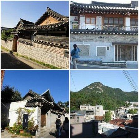 Hanok-Dorf Bukchon: きれいな街並み。