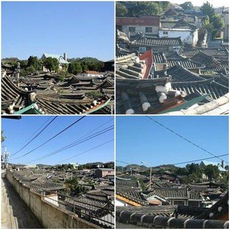 Hanok-Dorf Bukchon: 北村四景あたり。