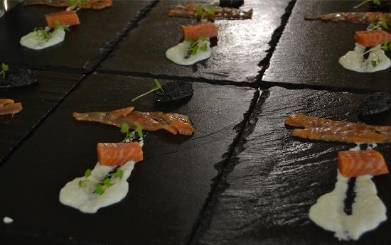 Restaurant Lido : Saumon fumé maison