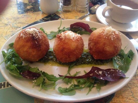 Nomad Cafe : Risotto Balls