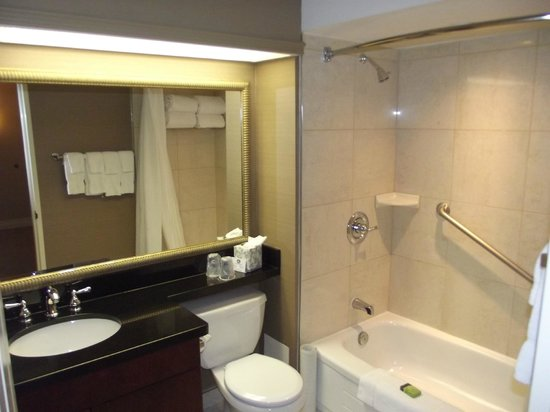 Best Western Plus Ottawa Downtown Suites: Bathroom was very clean
