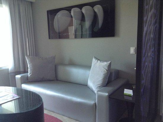 Paradisus Playa del Carmen La Perla: sitting area in suite