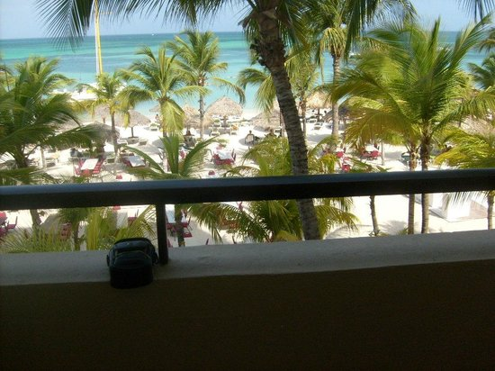 Occidental Grand Aruba All Inclusive Resort: Balcony view - Deluxe Ocean Front.