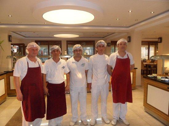 Perdikia Hill: chefs