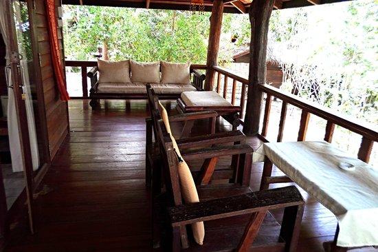 Sensi Paradise : terrace