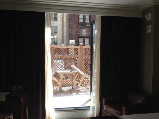 Walker Hotel Greenwich Village: Big sunny balcony