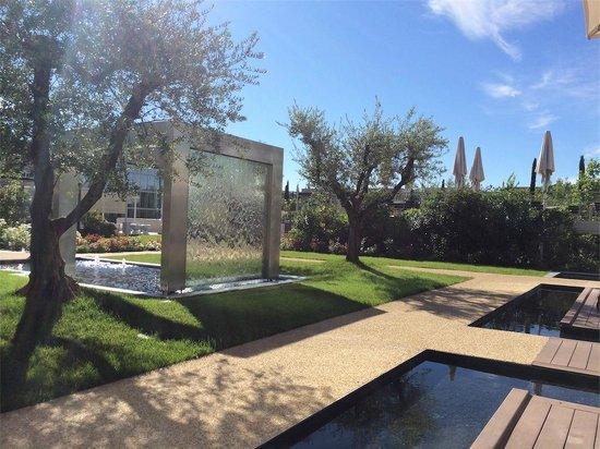 Aqualux Hotel Spa & Suite Bardolino : vista da sala colazioni