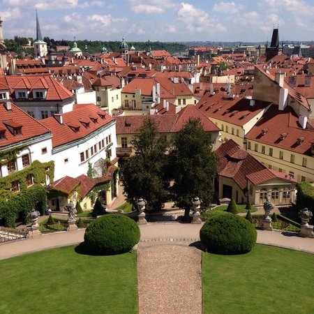 Aria Hotel Prague by Library Hotel Collection: Garden view