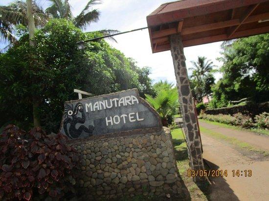 explora Rapa Nui - All Inclusive: La entrada al hotel tipica de ellos y muy linda