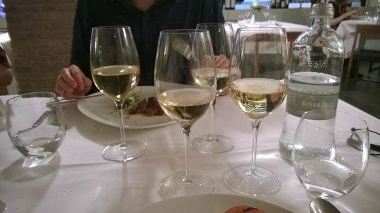 Ristorante Il Calcagnino : Carte des vin excellente