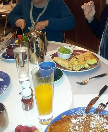 Norma's : tavolo