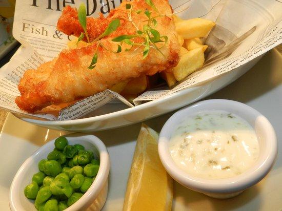 Lazy Daisy's Lakeland Kitchen: fish and chips