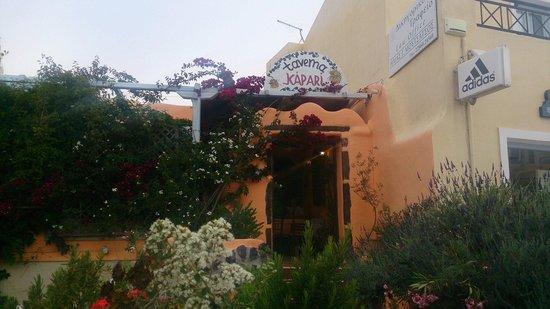 Kapari Taverna: Weiscie do tawerny.
