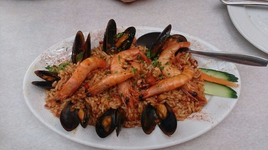 Kapari Taverna : Rissotto seafoot for 12€