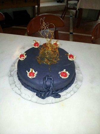 Da Rico Restaurant: Birthday cake