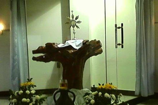 Theotokos Shrine: Prayer Room Altar
