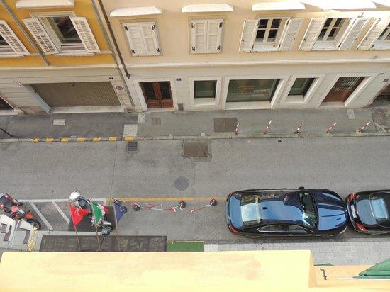 Hotel Città di Parenzo: view from window