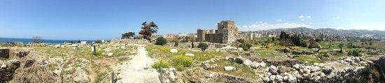 Château de Byblos : The Crusader Castle, Byblos, Lebanon