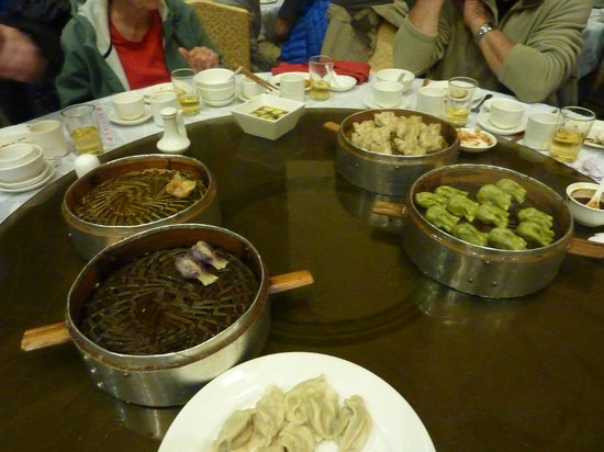 Tang GeWu He JiaoZi Yan: quelques uns des délicieux raviolis vapeur une bonne douzaine de variétés