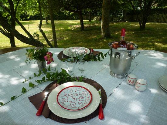 Sainte-Marguerite-de-Viette, France : Déjeuner champêtre