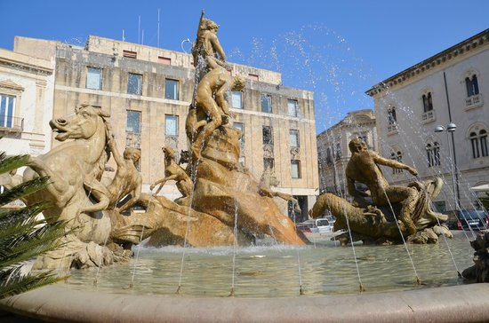 Fountain of Diana: Tritons and Nereids