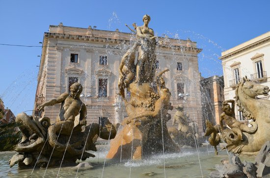Fountain of Diana: Fountain & Piazza Archimede