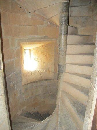 Castelo de Beja: Spiral stairs