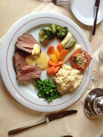 Hotel Alpenruh Restaurant: Chateau Briand