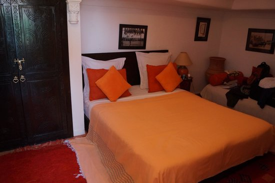 Riad Eden: The Orange room