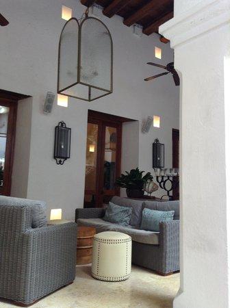 Hotel Casa San Agustin: Hotel Reception Area