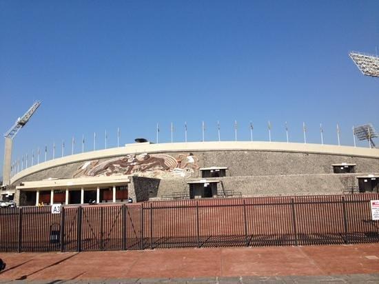 Ciudad Universitaria: サッカー場