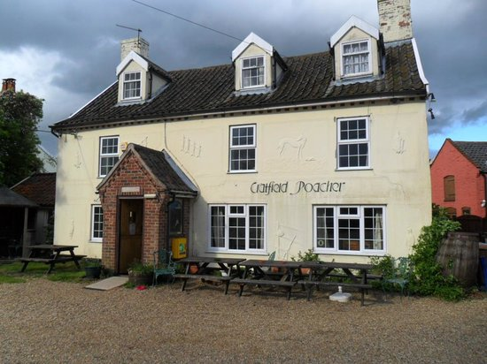 Halesworth, UK: Cratfield Poacher Public House
