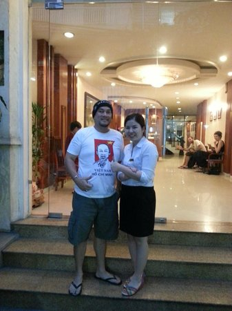 Hanoi Holiday Diamond Hotel: Entrance