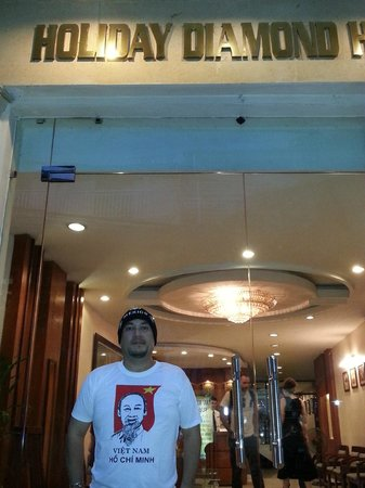 Hanoi Holiday Diamond Hotel : Entrance Hall