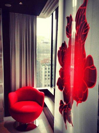Mira Moon Hotel: nice curtain