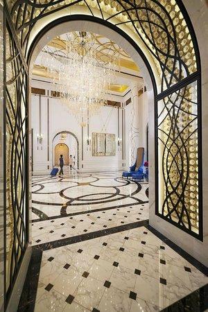 酒店大廳 Lobby at Mandarin Oriental, Taipei