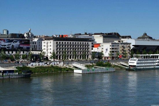 Hotel Devin: Вид с Дуная