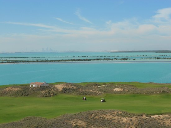 Park Inn by Radisson Abu Dhabi Yas Island : View from our room