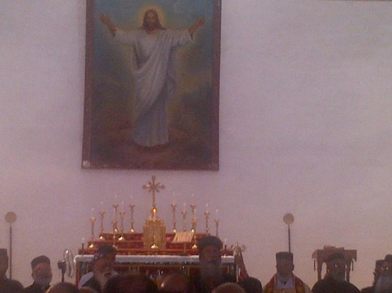 Parumala Church : VIEW OF THE THE SACRED ALTAR