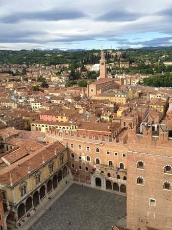 Hotel Marco Polo: Top of the tower, Verona