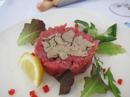 L'Osteria del Vignaiolo : Carne cruda