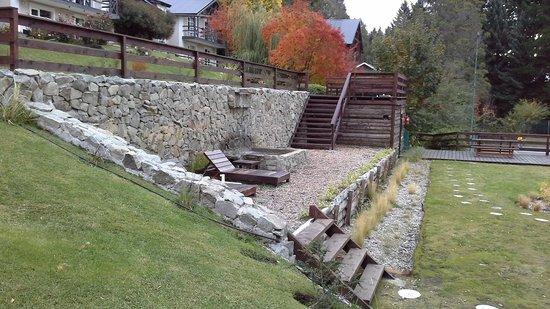 Aldea Andina: cascada