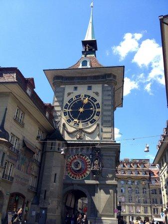 Clock Tower: Primo piano della torre