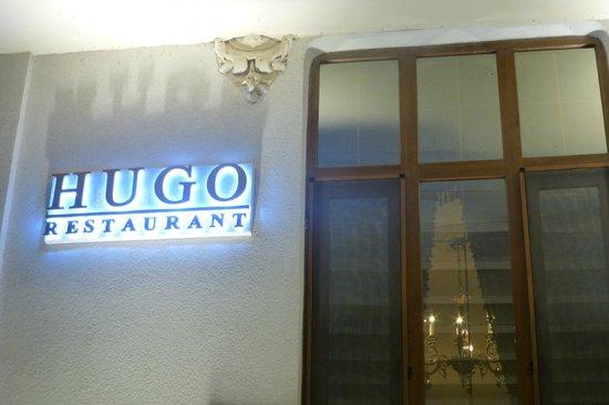HUGO Restaurant : Entrance