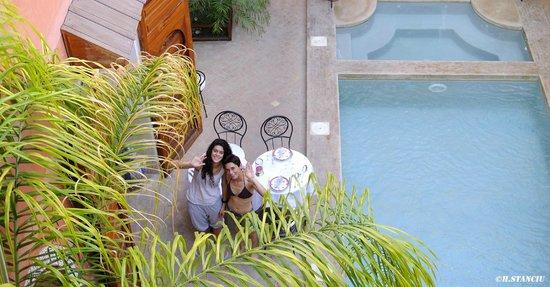 Riad Alili : De la terrasse