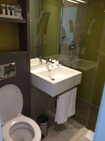 Swissotel Zurich : Small bathroom
