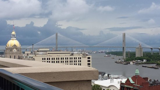 Holiday Inn Express Savannah-Historic District: view from the roof