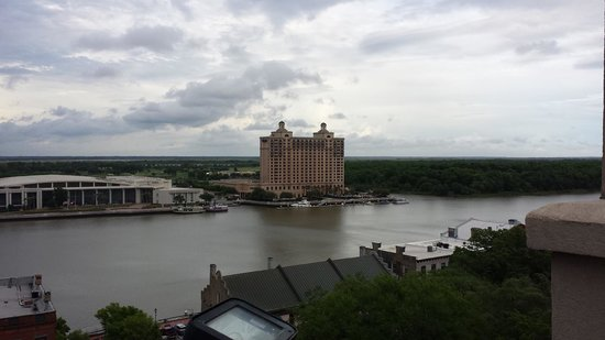 Holiday Inn Express Savannah-Historic District: View from roof