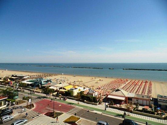 Hotel Caesar : Vista dalla camera della spiaggia