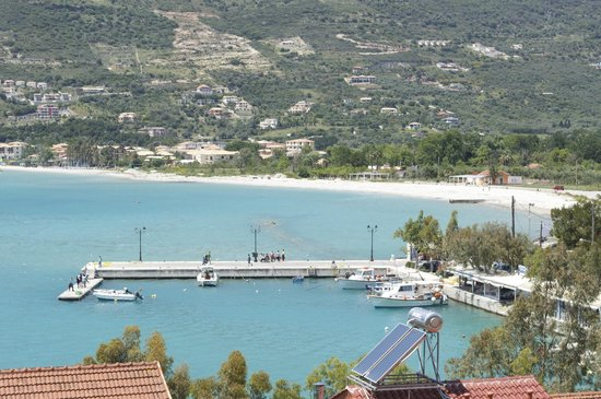 Vasiliki Blue : View from the apartment - bay